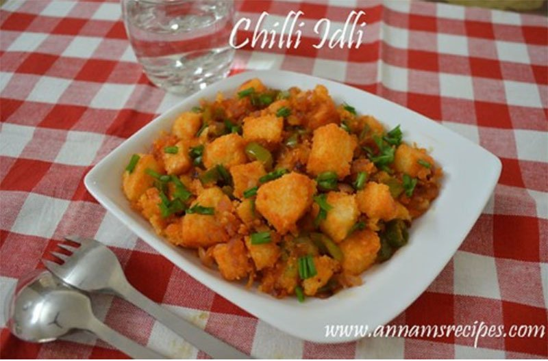 Chilli Idli Recipe Chilli Idli