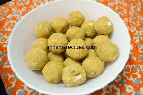 Traditional Porivilangai Urundai Porivilangai Urundai recipe