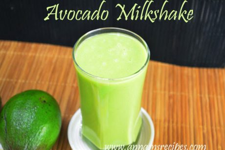 healthy avocado milkshake avocado milkshake recipe