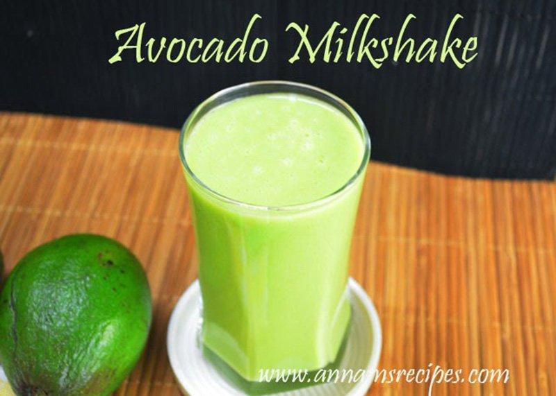 healthy avocado milkshake avocado milkshake recipe