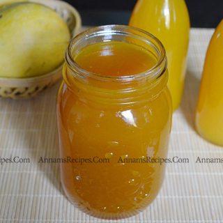 Homemade Mango Squash recipe | Mango Squash recipe