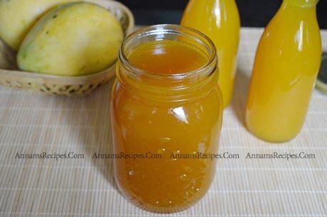 Homemade Mango Squash recipe Mango Squash recipe