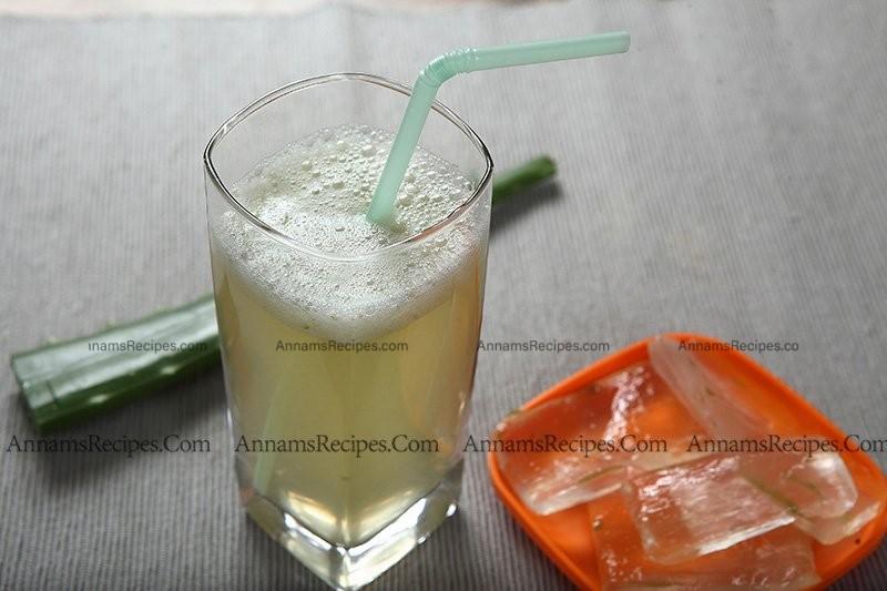 How to prepare Aloe vera Juice Aloe vera Juice recipe