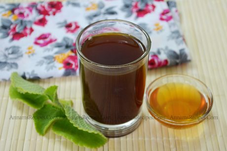 Karpooravalli Tea Karpooravalli Tea Recipe