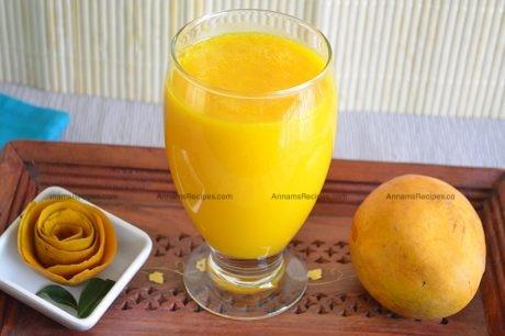 Mango Juice recipe Mango Juice recipe without Milk