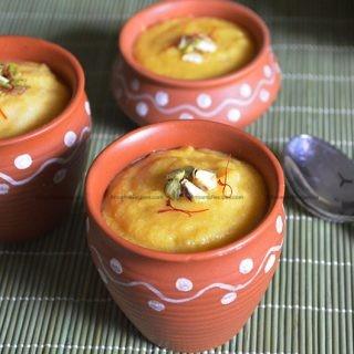 Mango Phirni recipe | How to make Mango Phirni