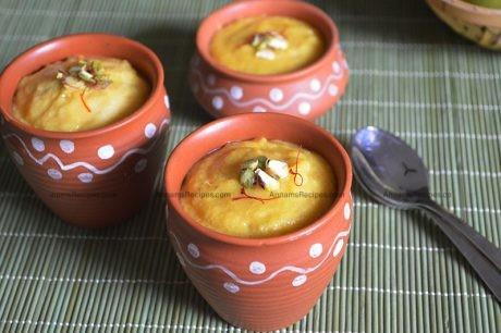 Mango Phirni recipe How to make Mango Phirni