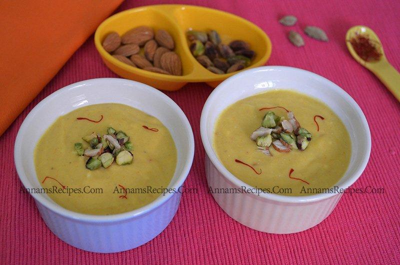 Mango Shrikhand recipe Mango Shrikhand
