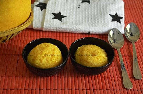 Mango Sorbet recipe Mango Sorbet Ice Cream