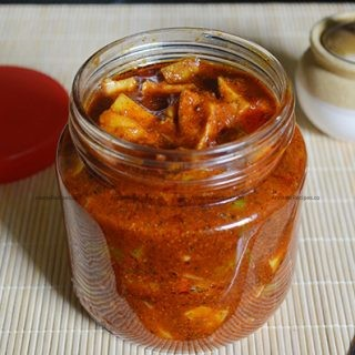 Rrajapalayam Mango Pickle recipe | Rajapalayam Manga Oorugai