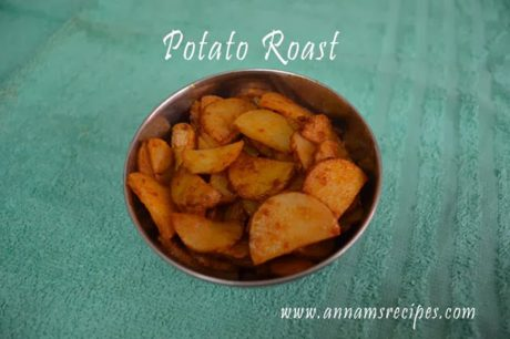 Chettinad Potato Roast Potato Roast Recipe