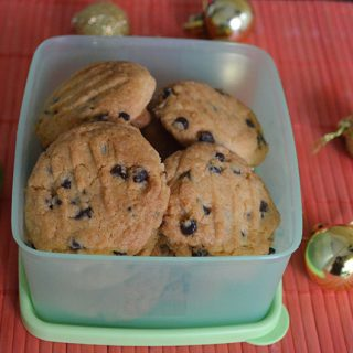 Choco Chip Cookies Recipe | Choco Chip Cookies Eggless