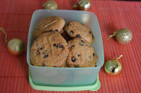 Choco Chip Cookies Recipe Choco Chip Cookies Eggless