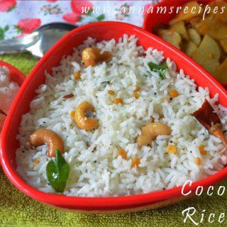 Coconut Rice | Coconut Rice Recipe
