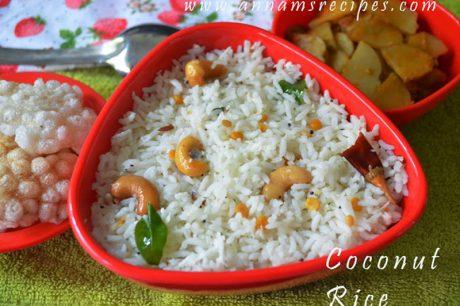 Coconut Rice Coconut Rice Recipe