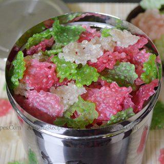 Colour Javvarisi Vadam  |Javvarisi Vadam Recipe