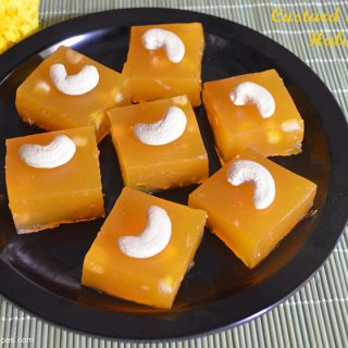 Custard Powder Halwa Recipe| Custard Powder Halwa