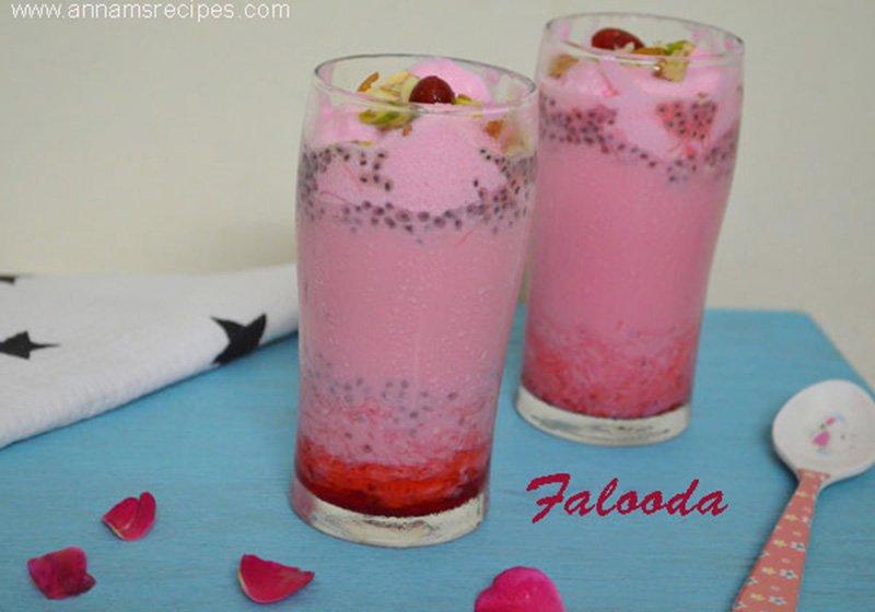 Falooda Falooda Recipe at Home