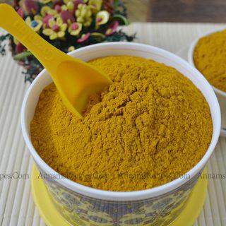 Fresh Turmeric Powder | Turmeric Powder at Home
