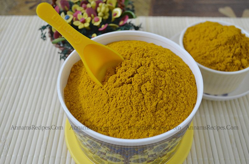 Fresh Turmeric Powder Turmeric Powder at Home