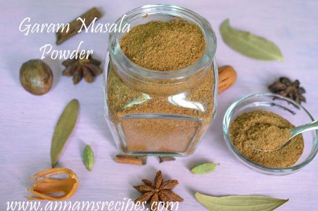 Garam Masala Powder garam masala powder recipe
