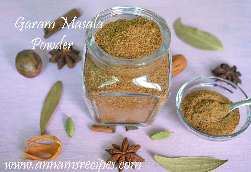 Garam Masala Powder garam masala powder recipe
