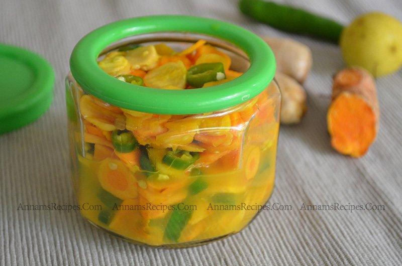 Ginger Turmeric Pickle Recipe Fresh Turmeric Ginger Pickle