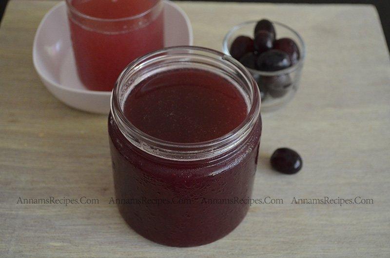Grape syrup Homemade grape squash