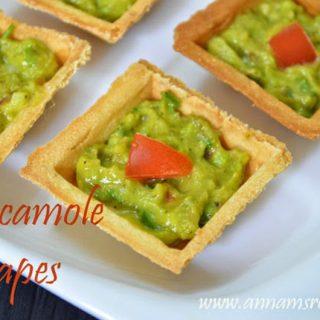 Guacamole Canape Recipe | Guacamole Canape