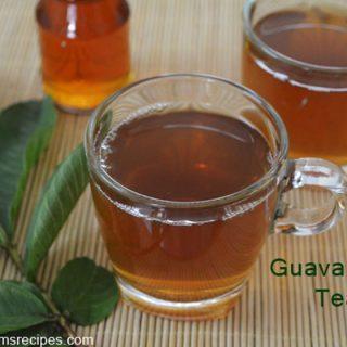 Guava Leaf Tea | Guava Leaf Tea Preparation