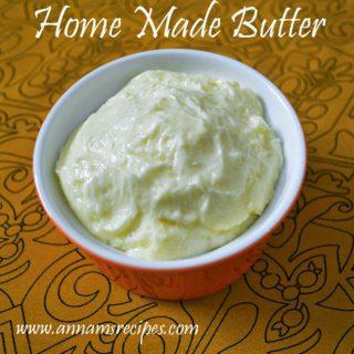 Homemade Butter | How to make Butter