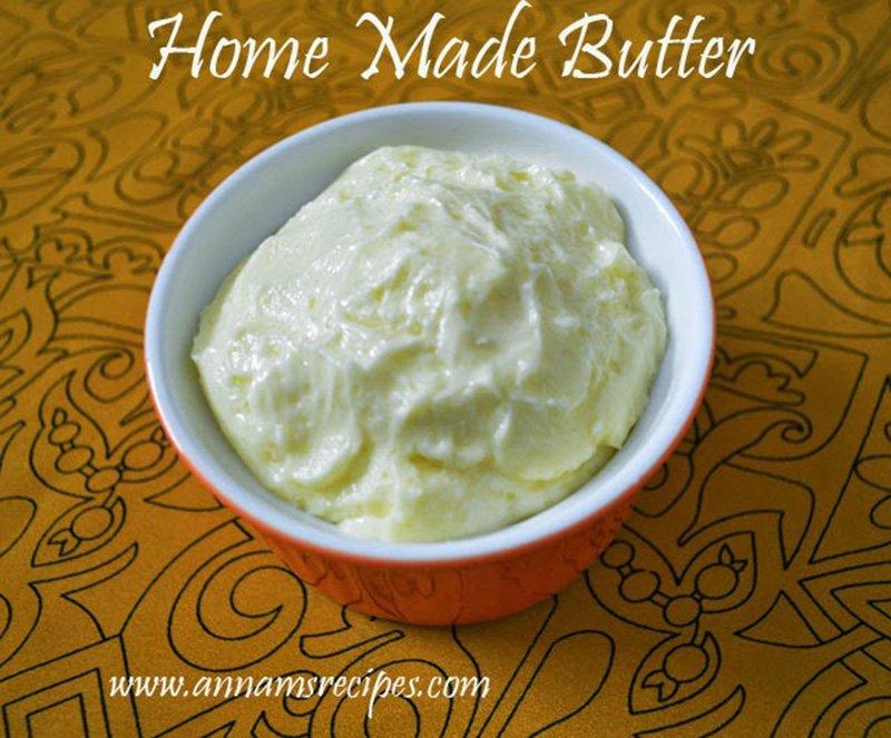 Homemade Butter How to make Butter