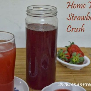 Homemade Strawberry Crush | Strawberry Crush Recipe