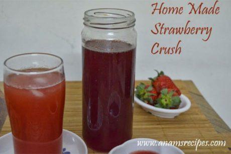 Homemade Strawberry Crush Strawberry Crush Recipe