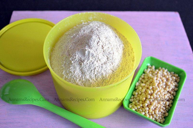 Homemade Urad Dal Flour Urad Dal Flour at home