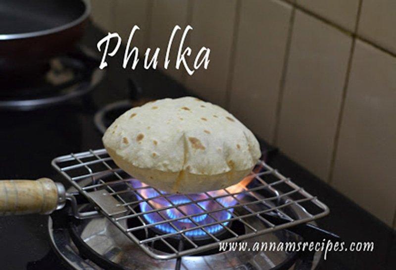 How to make Phulka Phulka Recipe