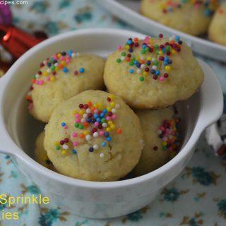 Italian Sprinkle Cookies | Italian Sprinkle Cookies Recipes