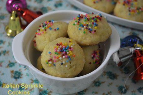 Italian Sprinkle Cookies Italian Sprinkle Cookies Recipes
