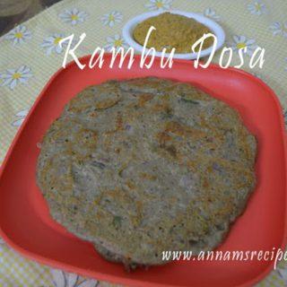 Kambu Dosa | Kambu Dosai Recipe
