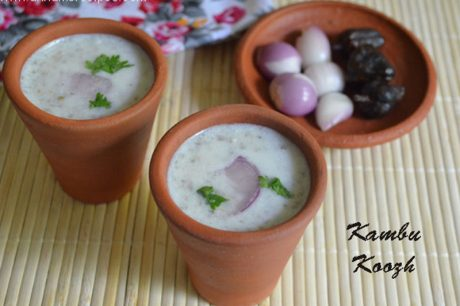Kambu Koozh Recipe Kambu Koozh in English