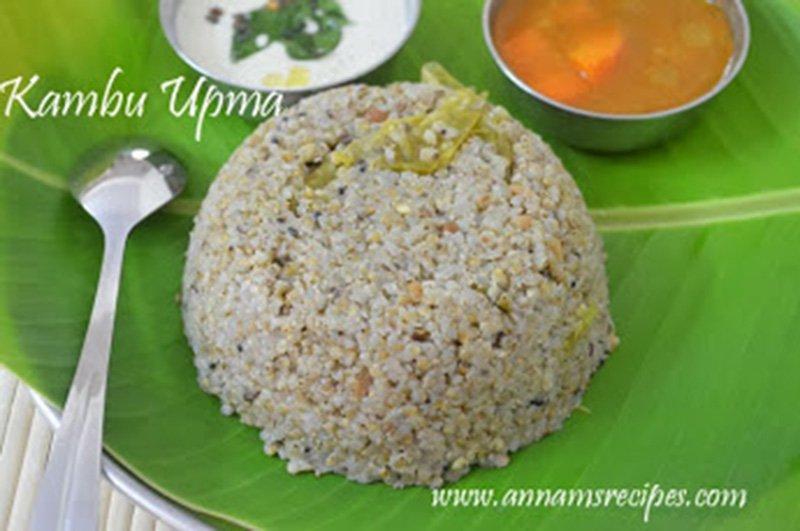 Kambu Upma Kambu Upma Recipe