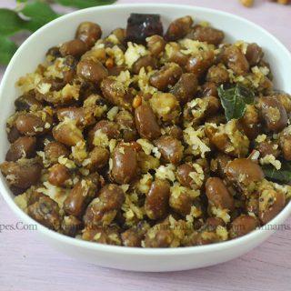 Karamani Sweet Sundal Karamani Sweet Sundal Recipe