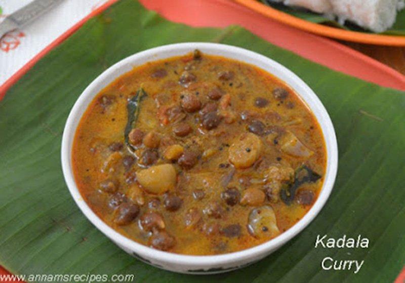 Kerala Kadala Curry Kerala Kadala Curry Recipe