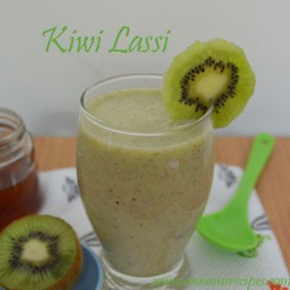 Kiwi Fruit Lassi | Kiwi Lassi Recipe