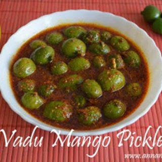 Maavadu Pickle Recipe | Vadu Mangai Oorugai