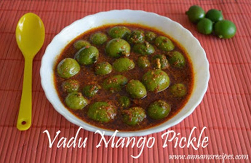 Maavadu Pickle Recipe Vadu Mangai Oorugai