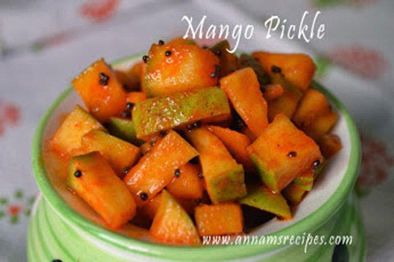 Mango Pickle Mango Pickle Recipe