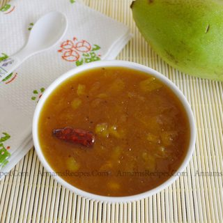 Mango Sweet Pachadi Recipe | Mango Vellam Pachadi