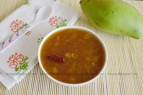 Mango Sweet Pachadi Recipe Mango Vellam Pachadi
