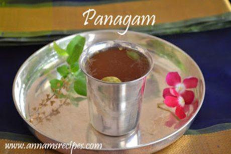 Panagam Recipe Panakam
